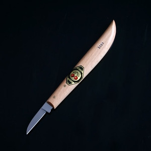 [투체리]조각칼 Carving Knife (Round Neck, Straight Edge/3358)/독일생산