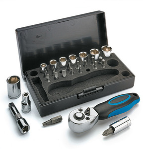 [Lee Valley] 리벨리 콤팩트 28종 라쳇 세트 / Compact 28-piece Ratchet Set / Imperial/Metric / 17K0190, 17K0191